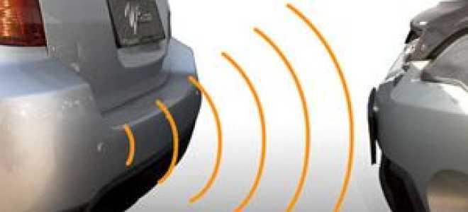 Парктроник: установка датчиков и проверка работы