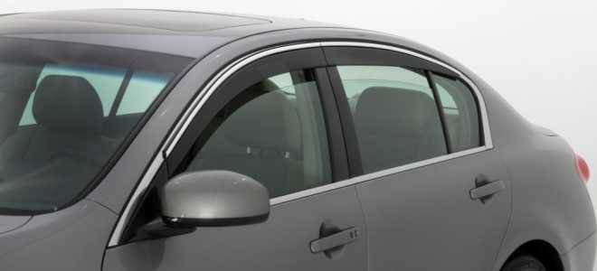 Зачем нужны дефлекторы на окна