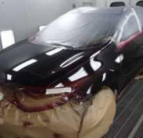 Подготовка авто к покраске: этапы, технология, видео уроки
