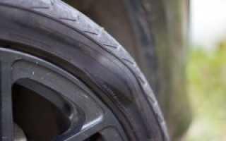 Выскочила грыжа на колесе автомобиля — что делать?