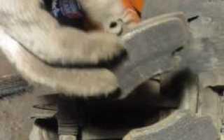 Через сколько менять задние тормозные колодки
