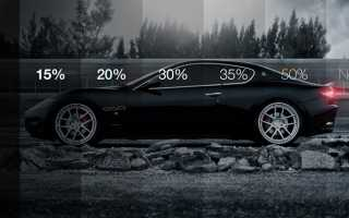 50% тонировка для лобового стекла авто