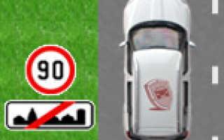 Максимальная скорость в городе, разрешенная для движения
