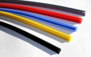Как поменять резинку на дворнике? простые и быстрые способы