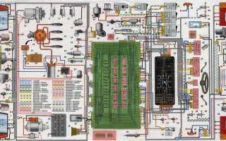 Схема подключения инжектора ваз 2109