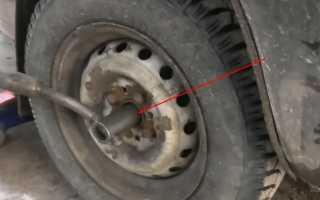 Замена подшипника ступицы переднего колеса и смазки — видео и стоимость