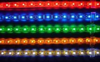 Светодиодная подсветка подключение. Как подключить светодиодную ленту в машине: выполняем легкий тюнинг своими руками