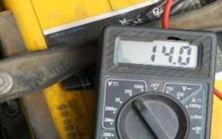 Сколько должен выдавать генератор для зарядки аккумулятора