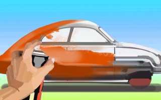 Покраска авто из баллончика — деньги на ветер или реальная возможность сэкономить?