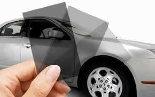 Какая бывает тонировка стекол автомобиля и какой пленкой тонировать?