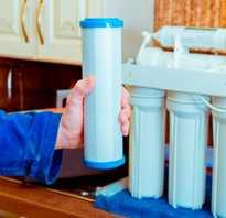 Замена картриджа в фильтре для воды: периодичность и процесс