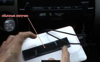 Держатель для планшета в автомобиль своими руками
