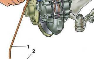 Прокачка тормозов ВАЗ 2112 – как это сделать правильно