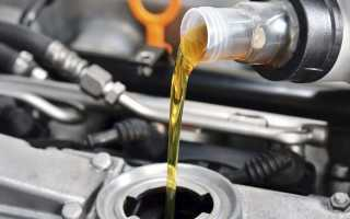 Какие фильтра менять при замене масла в двигателе