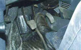 Почему проваливается педаль тормоза — из-за чего педаль тормоза стала мягкой
