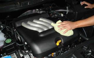 Когда и как следует мыть двигатель автомобиля