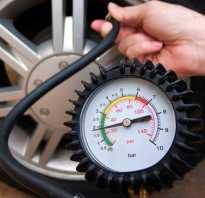 Какое давление должно быть в шинах легкового автомобиля таблица?